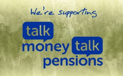We're Proud to Be Supporting Talk Money Talk Pensions Week 2019