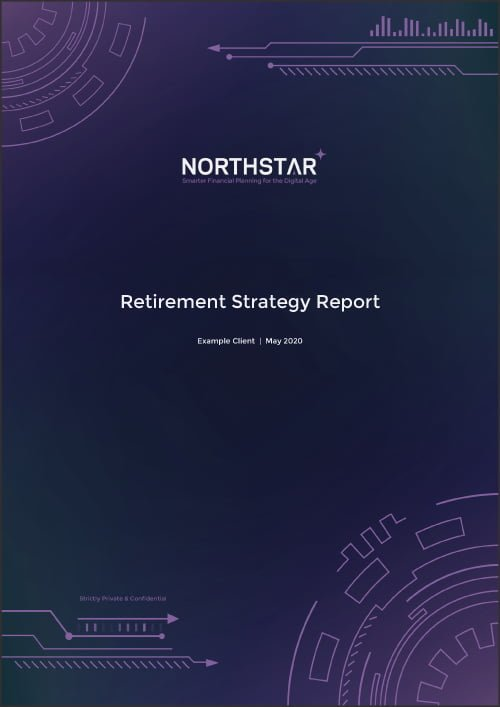Example Retirement Strategy Report Thumbnail