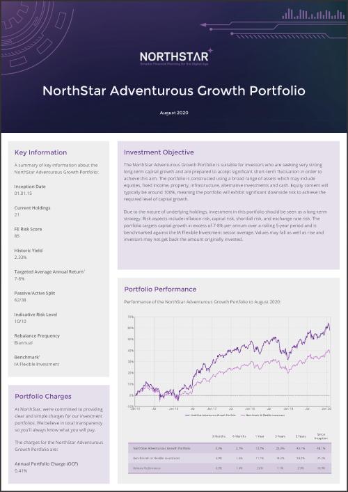 NorthStar Adventurous Growth Portfolio Factsheet Thumbnail