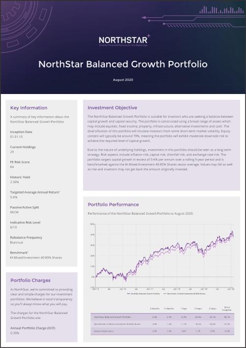 NorthStar Balanced Growth Portfolio Factsheet Thumbnail