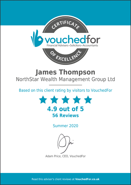 vouchedfor certificate of excellence Spring 2020 Thumbnail