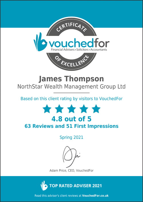 vouchedfor certificate of excellence spring thumbnail